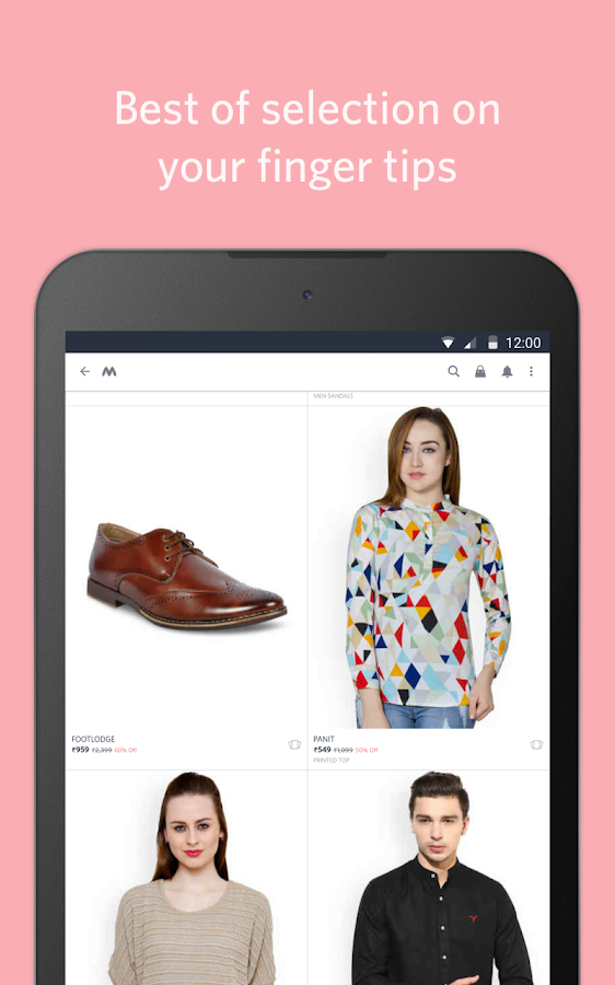 Myntra Online Shopping App- screenshot