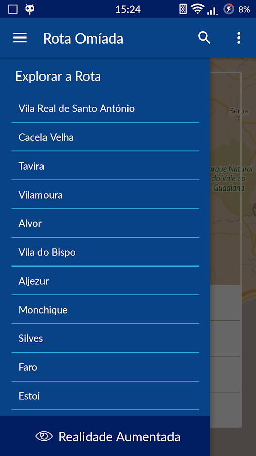 Rota Omíada no Algarve- screenshot