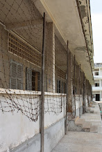 Photo: Year 2 Day 35 - S-21 Prison (Building Where the Victims Were Kept) (Cambodia)
