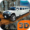 Hill & Offroad Limo Driving 3D