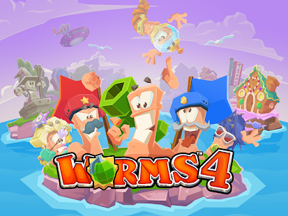 Worms 4- screenshot thumbnail