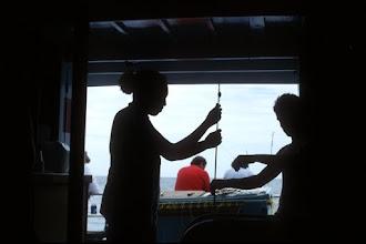 Photo: Silhouette of fisherman