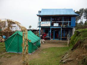 Photo: 1st of many Makalu lodges