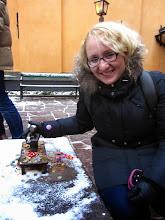 """Photo: """"Geležinis berniukas"""" - mažiausia skulptūrėlė Stokholme :)"""