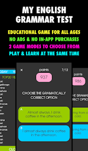 My English Grammar Test PRO Mod Apk Download For Android 1
