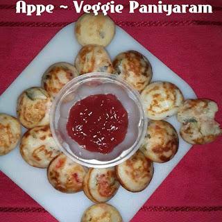 Paniyaram Recipe, How to make Vegetable Appe