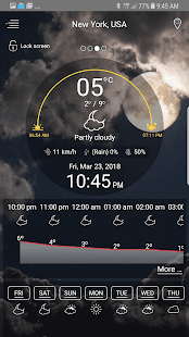 Weather - unlimited & realtime weather forecast Screenshot