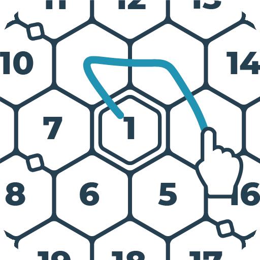 RIKUDO Puzzles ★ Number Mazes Icon