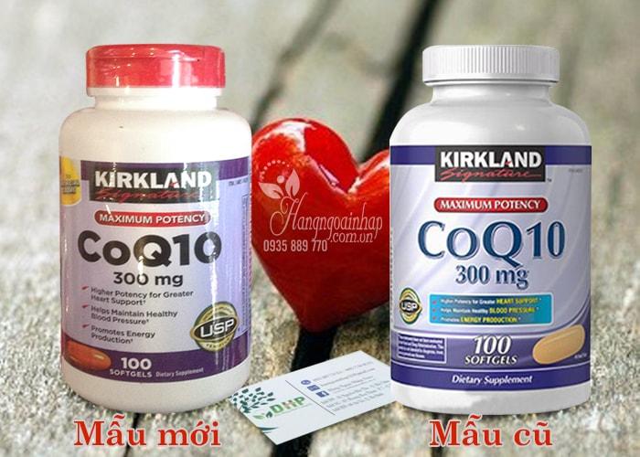 Kirkland CoQ10 300 mg 100 viên mẫu mới