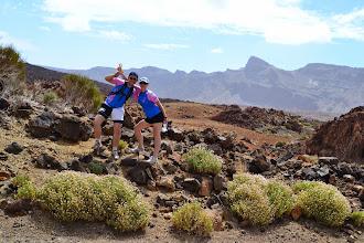 Photo: Laura & Pierrot à Tenerife (Iles Canaries)