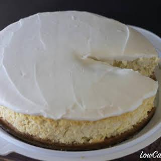 Gluten Free Coconut Cream Cheesecake.