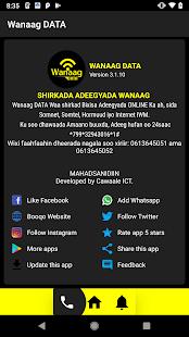 Wanaag DATA for PC-Windows 7,8,10 and Mac apk screenshot 3
