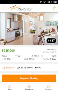 ZipRealty Real Estate & Homes screenshot 3