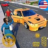 Yellow Cab American Taxi Driver 3D: New Taxi Games Android APK Download Free By Black Pyramid 3D Games Studio