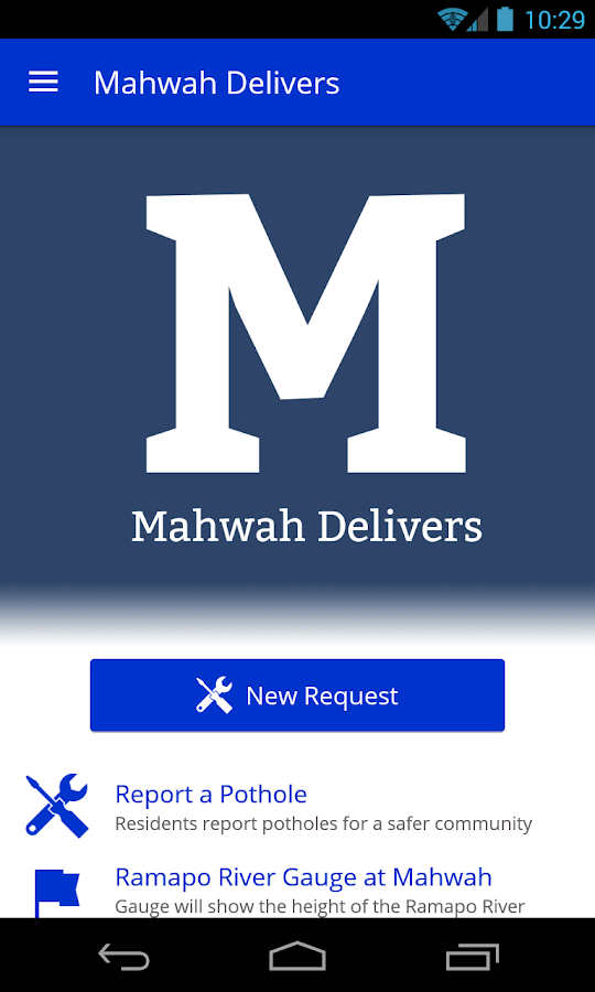 Mahwah Delivers- screenshot