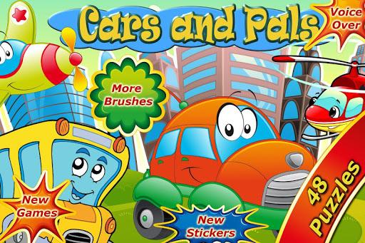 Cars Pals: Kids Puzzle Games