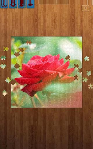 花のジグソーパズル
