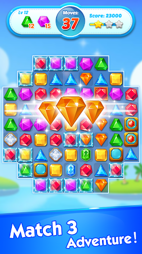 Jewels Crush - Match 3 Puzzle Aventure fond d'écran 1