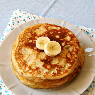 Banana Yogurt Pancakes