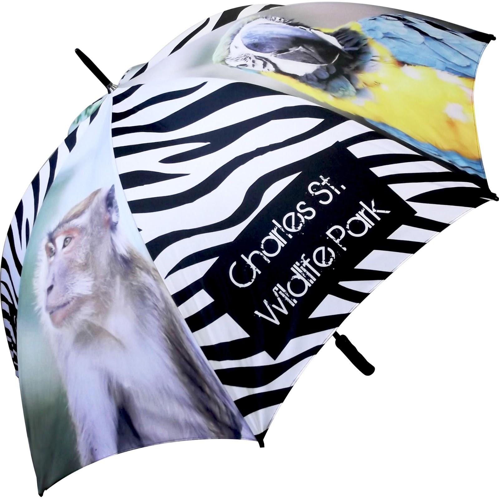 Bespoke Printed Golf Umbrellas