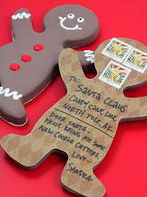 Photo: Gingerbread Man Postcard
