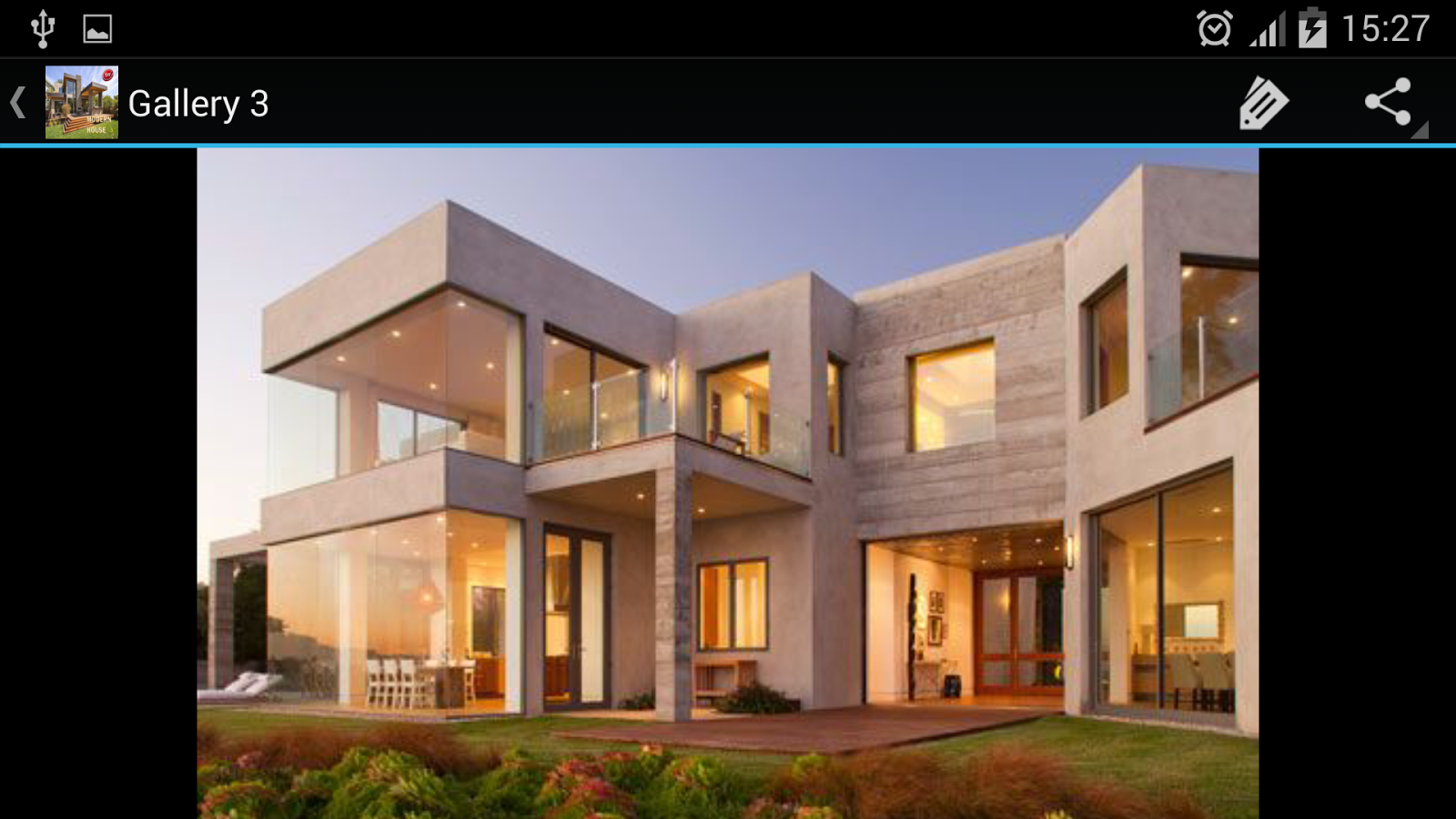 Modern house designs android apps on google play for Home plans pictures