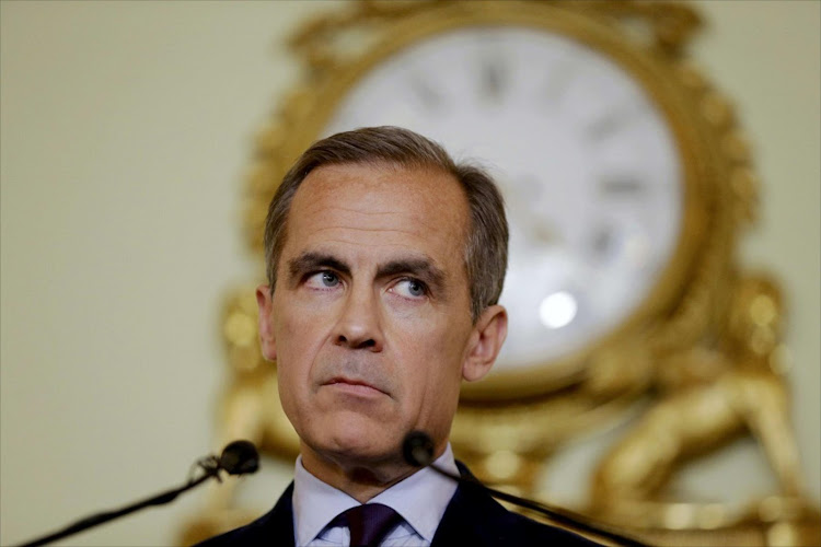 Mark Carney. Picture: REUTERS