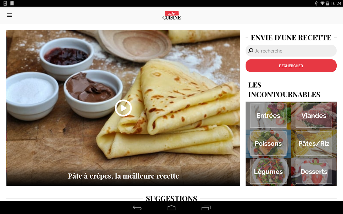 cuisine : 45 000 recettes - android apps on google play