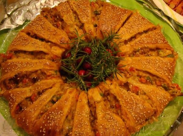 Italian Crescent Wreath Recipe
