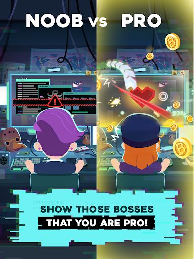 Hacking Hero - Cyber Adventure Clicker screenshots 11