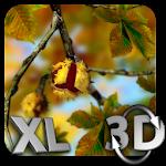 Autumn Leaves in HD Gyro 3D XL Parallax Wallpaper Icon