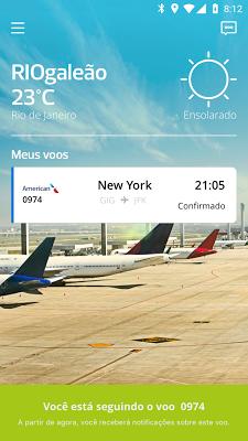 RIOgaleão - screenshot