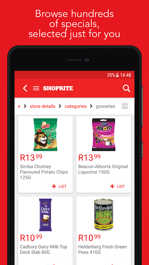 Shoprite SA- screenshot