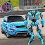 Super Car Robot Transforme Futuristic Supercar icon