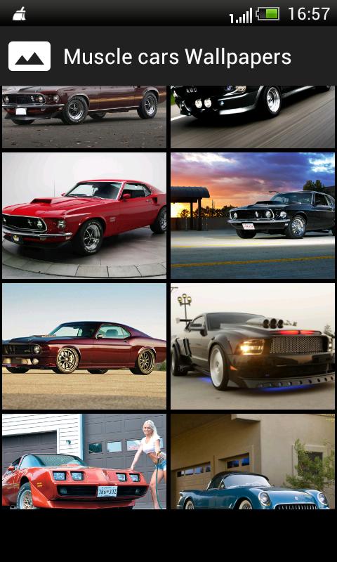 muscle cars hd wallpapers screenshot