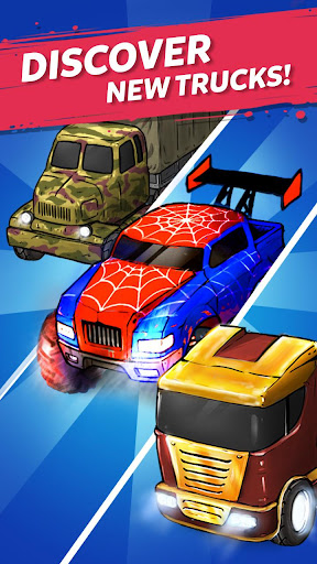 Merge Truck: Monster Truck Evolution Merger game 1.0.95 screenshots 8