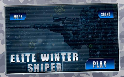 Elite Winter Sniper