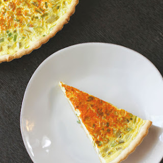 Green Chile Quiche.