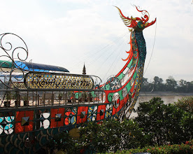 Photo: Day 340 - The Buddha's Boat at The Golden Triangle