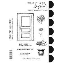 Wendy Vecchi Cling Stamps - Front Door Art