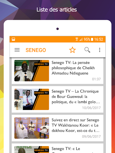 Senego: News in Senegal  screenshots 8