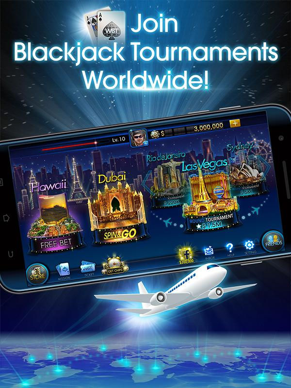Blackjack Tournament - WBT- screenshot
