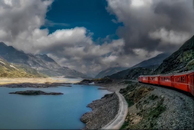 Sul trenino del Bernina di angelo27