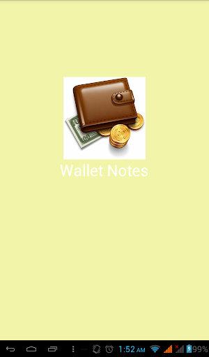 Wallet Notes