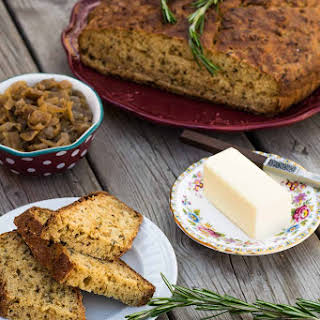 Caramelized Onion & Rosemary Soda Bread.