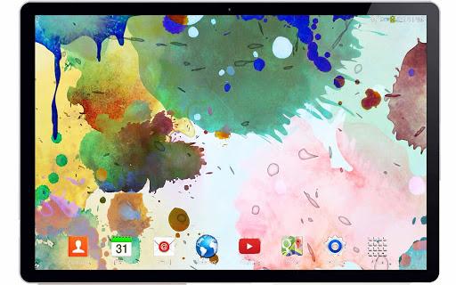 玩個人化App|彩色墨水3D动态壁纸免費|APP試玩