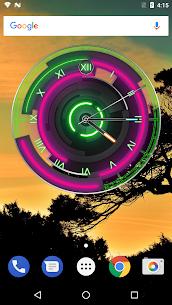 3D Neon Blue Clock 7.5.3 APK Mod Latest Version 2