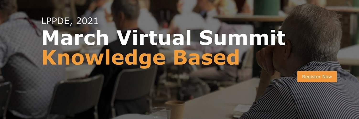 LPPDE Virtual Summit - March