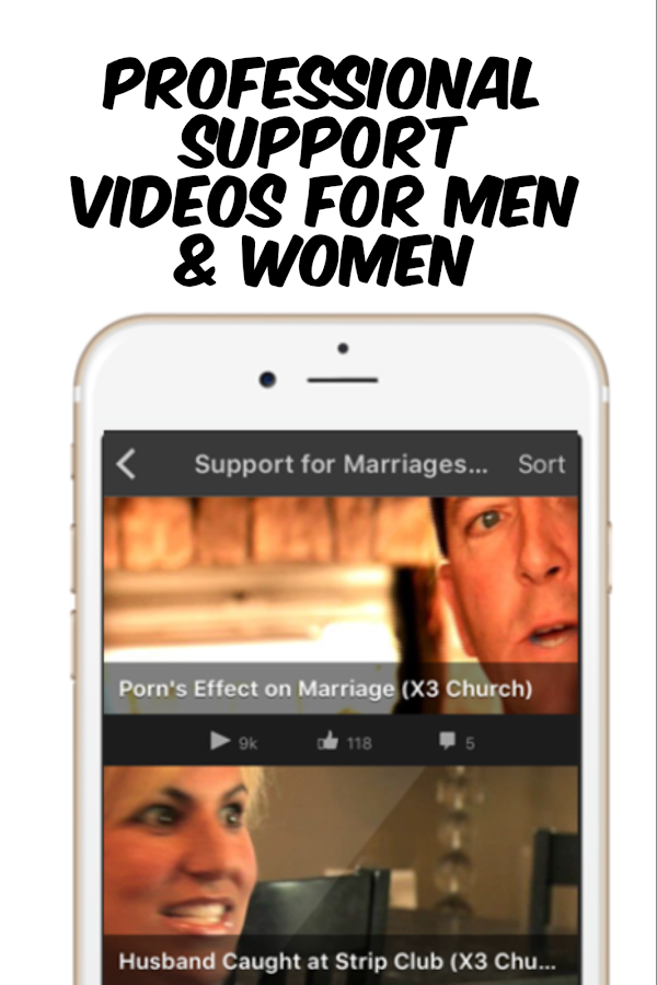 Screenshots of Porn / Sex Addiction Support for iPhone