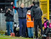 John van den Brom kon eindelijk eens juichen na de zege tegen Charleroi